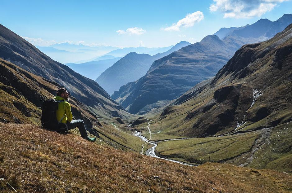 Wanderung: von der Fane Alm zur Brixner Hütte - Südtirol