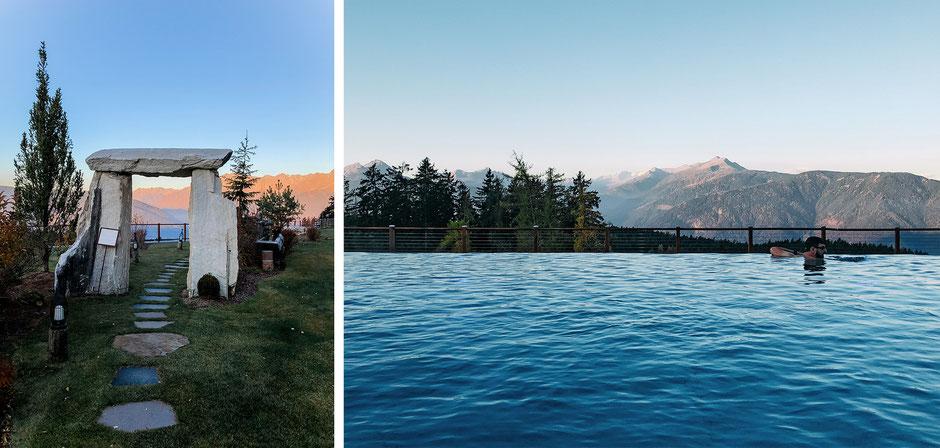 Infinity Pool, Hotel Chalet Mirabell in Hafling bei Meran, Südtirol