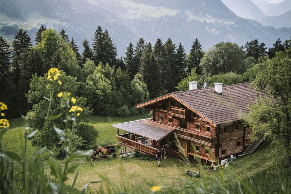 Ferienhaus Brandleit - ein liebevoll renovierter Bergbauernhof im Zillertal