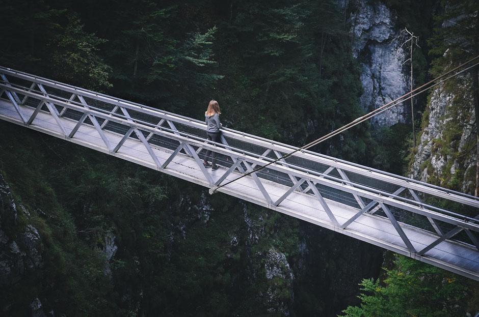 Leutascher Geisterklamm - Panoramabrücke