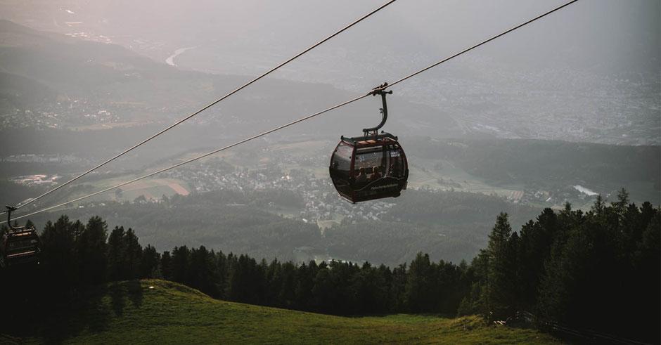 "Innsbrucktrek - Weitwanderung, Patscherkofel - Nachtfahrt zum Restaurant ""Das Kofl"""