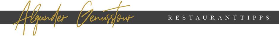 ALGUND/LAGUNDO - Algunder Waalweg mit Restaurantguide für Algund (VillaVerde, Leiter am Waal, Wirtshaus zur blauen Traube)