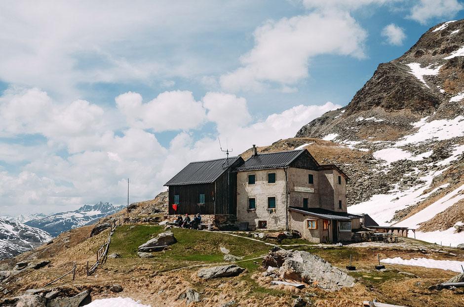 Wanderung Weißkugelhütte