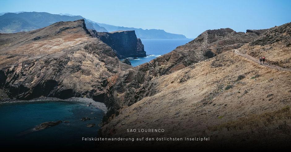 Lieblingsplätze auf MADEIRA: Felsküstenwanderung auf den östlichsten Inselzipfel SAO LOURENCO
