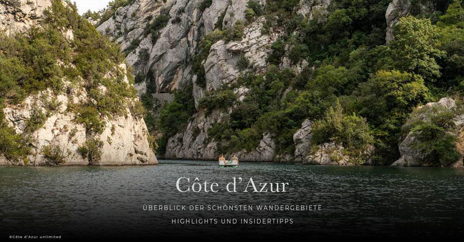 Wanderurlaub an der Côte d'Azur - die schönsten Wandergebiete, Highlights und Insidertipps