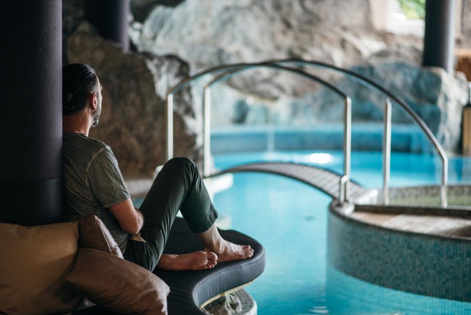 Indoorpool - Hotel Lanerhof - Winklerhotels - Wellnesshotel -  St.Lorenzen/Pustertal - Südtirol