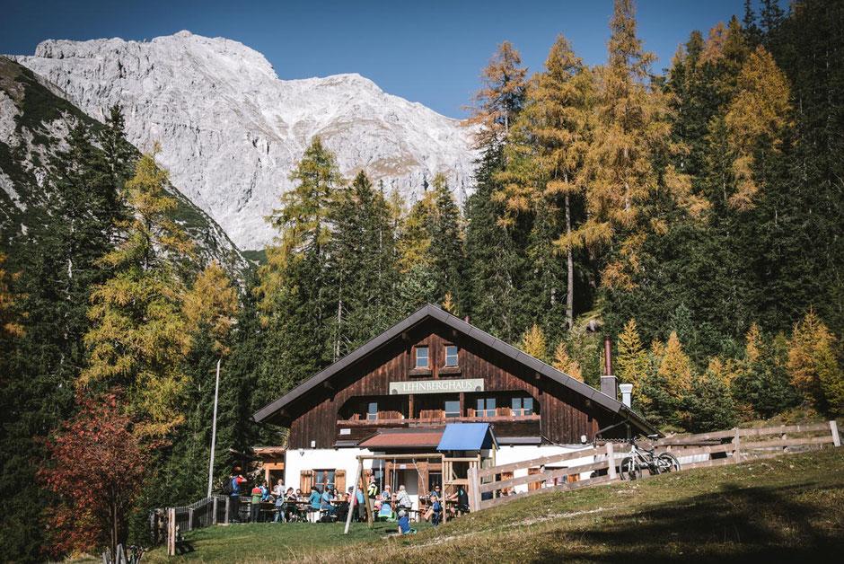Wanderung: Lehnberghaus - Lacke, Mieminger Plateau, Mieminger Berge, Obsteig, Almhütte mit Übernachtungsmöglichkeit  in Tirol