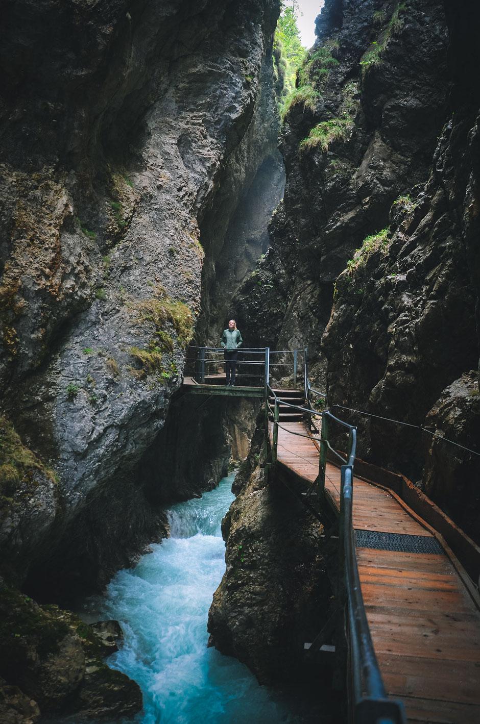 Leutascher Geisterklamm - Wasserfallsteig