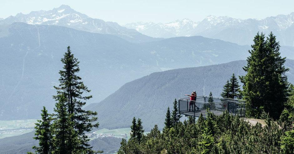 Innsbruck Trek, Wanderung zur Lacke am Mieminger Plateau