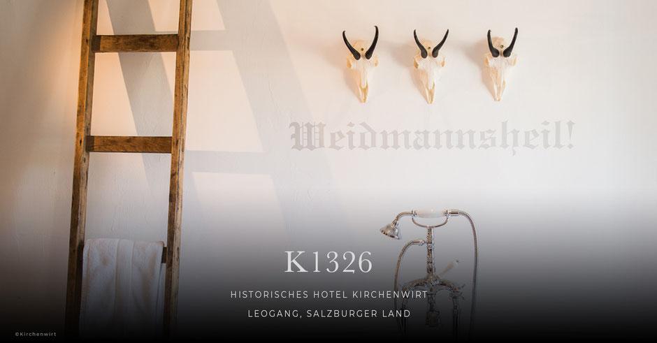 K1326 Kirchenwirt, Historisches Hotel, Leogang - Salzburger Land, Salzburg, Boutiquehotel, Bed&Breakfast, B&B