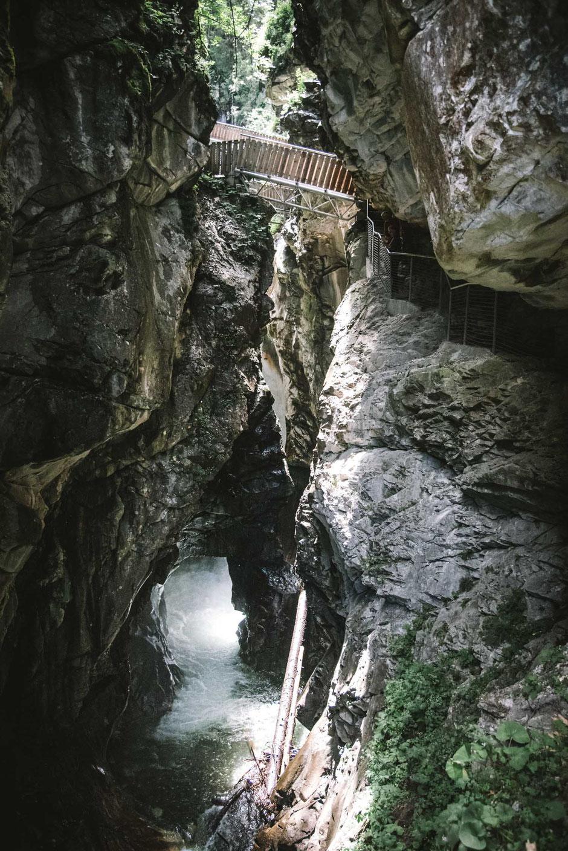 Gilfenklamm - Ratschingstal bei Sterzing, Erlebniswanderung, Schluchtenwanderung, Klammwanderung, Familienausflug - Südtirol