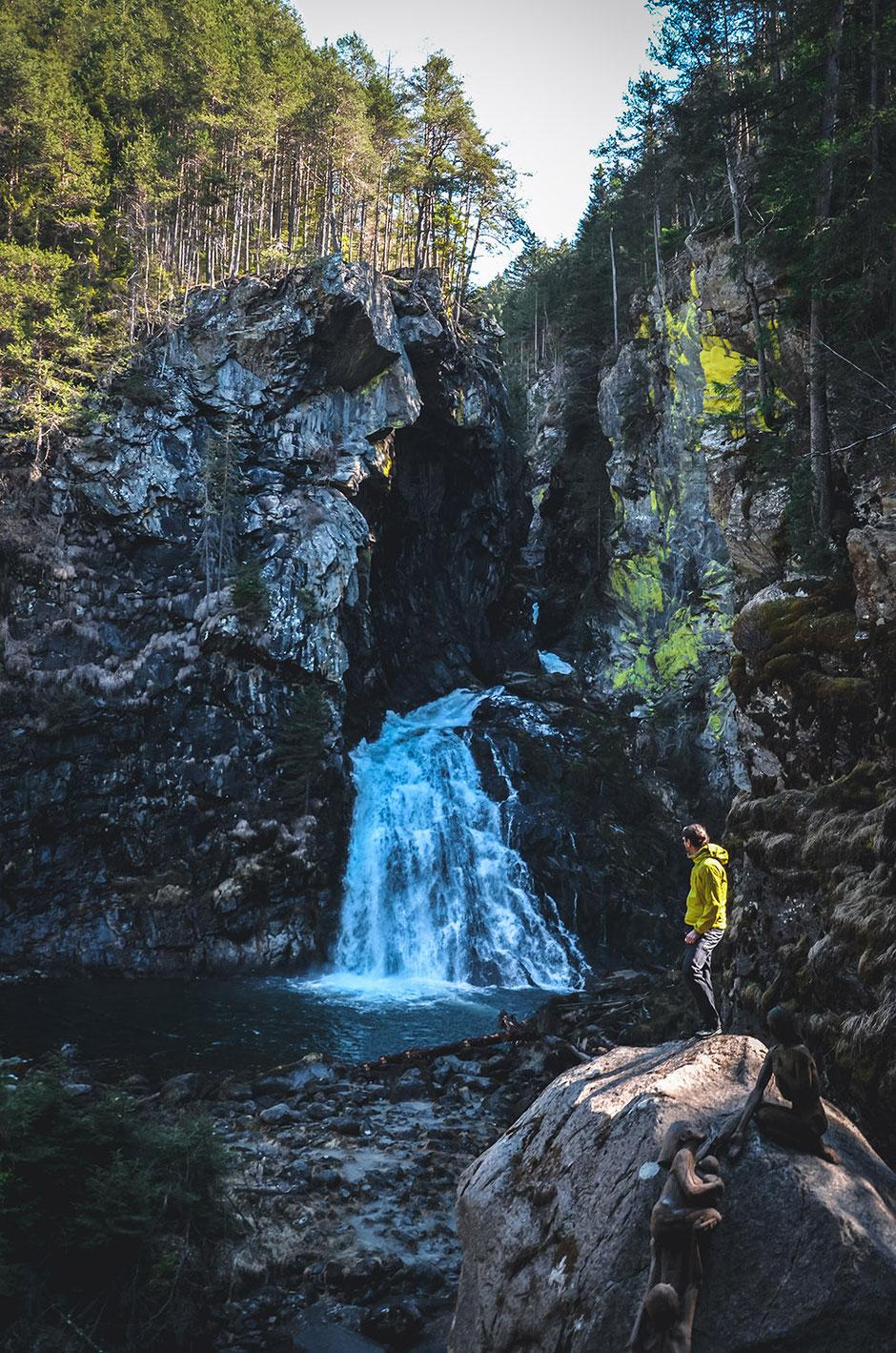 Reinbachschlucht - Reinbach Wasserfälle, Ahrntal - Pustertal, Südtirol - Wandertipp für Familien