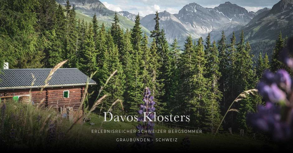 Davos Klosters - ein erlebnisreicher Bergsommer in den Schweizer Alpen