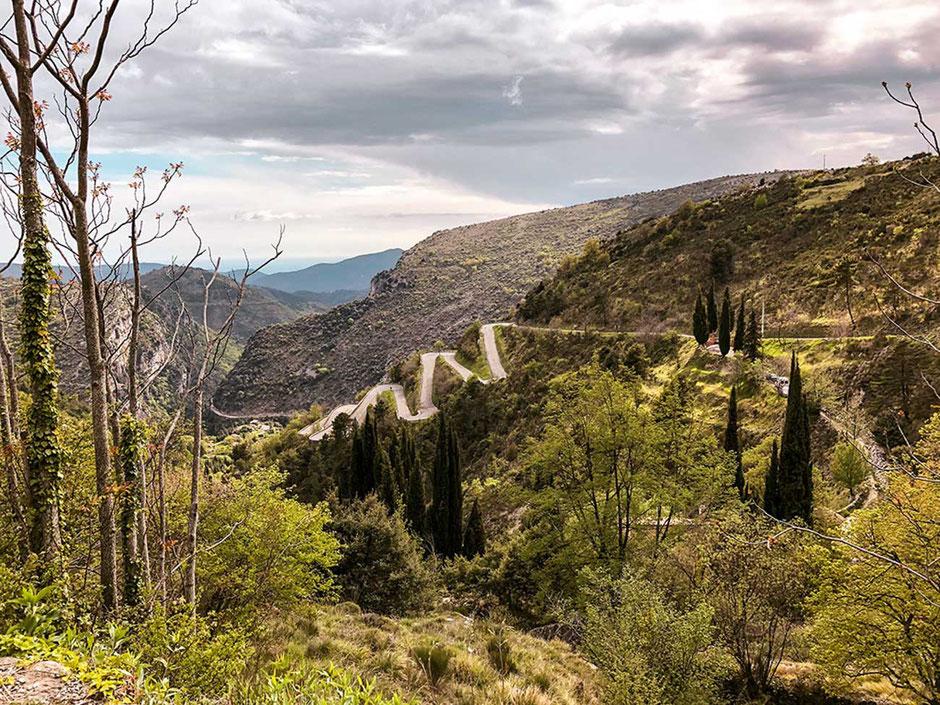 Mountainbiketour Côte d'Azur