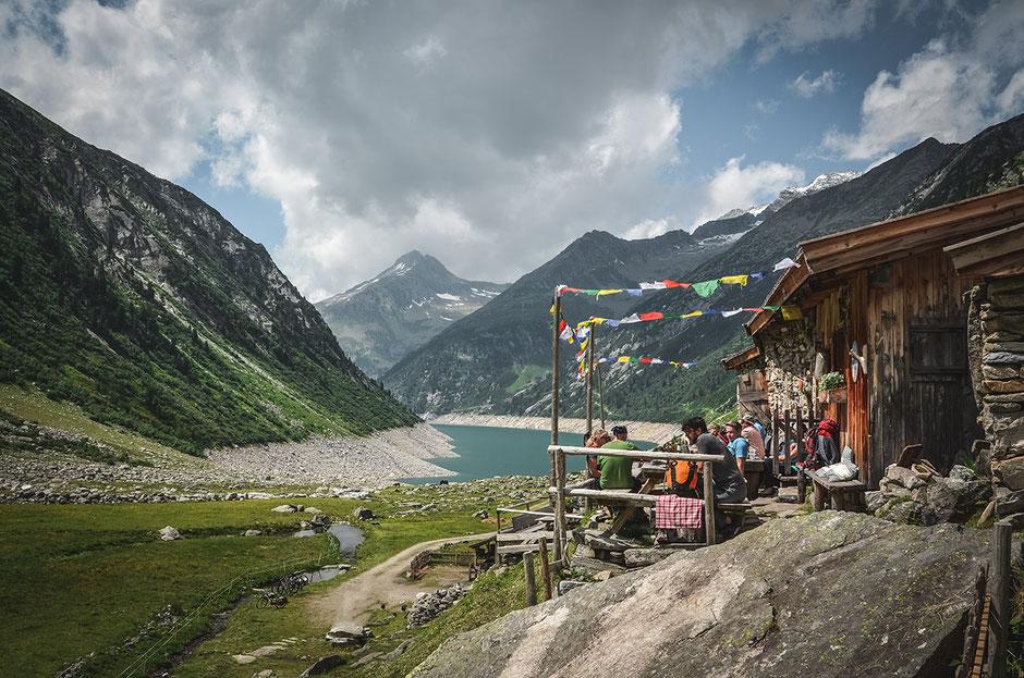 Hohenaualm, das Klein Tibet des Zillertals