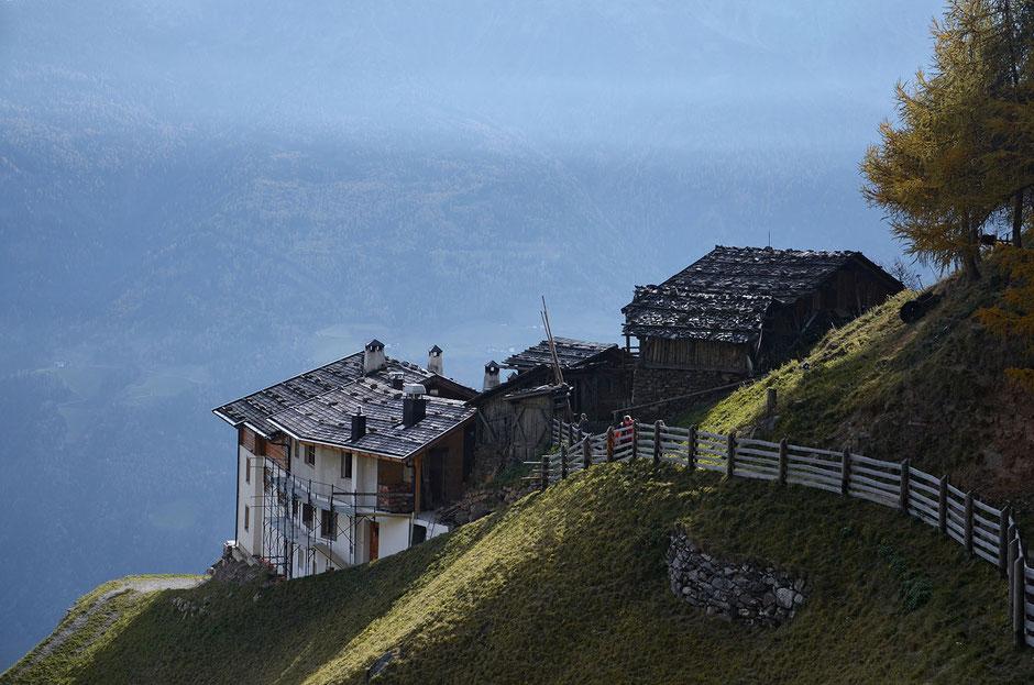 Jausenstation am Meraner Höhenweg