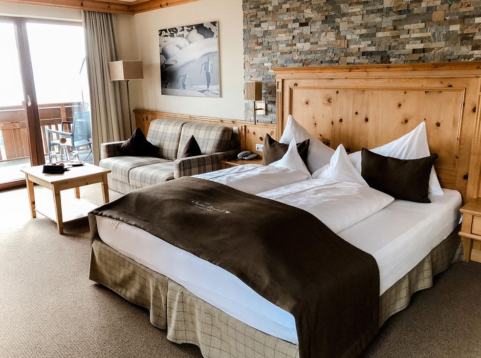 Suite im Hotel Chalet Mirabell in Hafling bei Meran in Südtirol