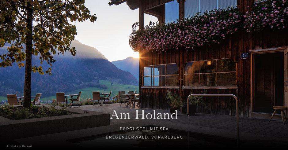 Am Holand, Berghotel mit Spa, Bregenzerwald, Vorarlberg - Österreich, Wellnesshotel, Wanderhotel,