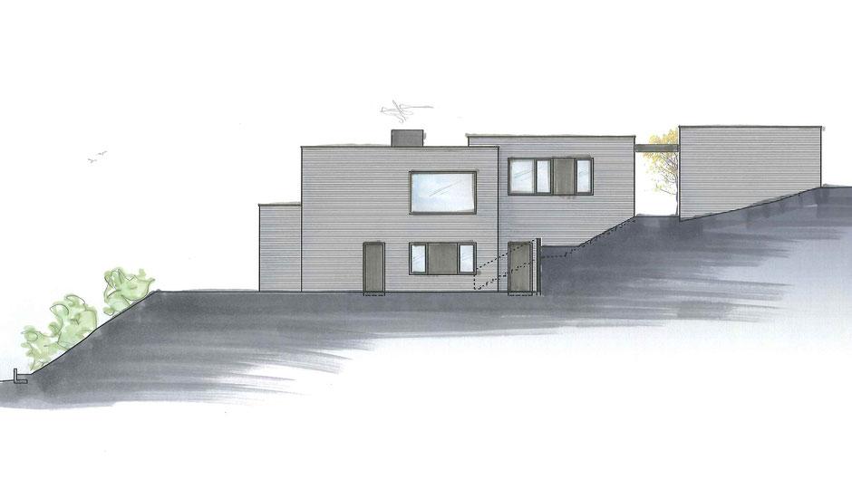 Privathaus R | Leinach Ostansicht