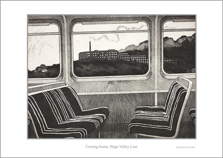 hope valley railway line art