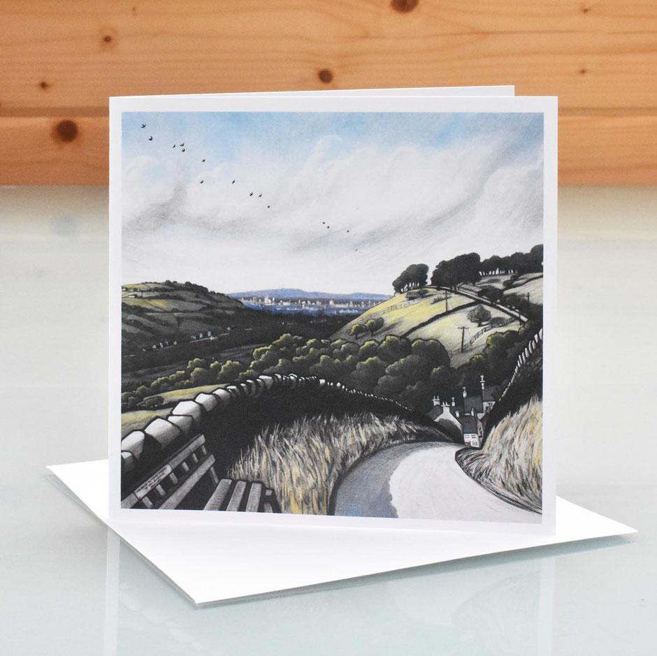brookbottom high peak art card