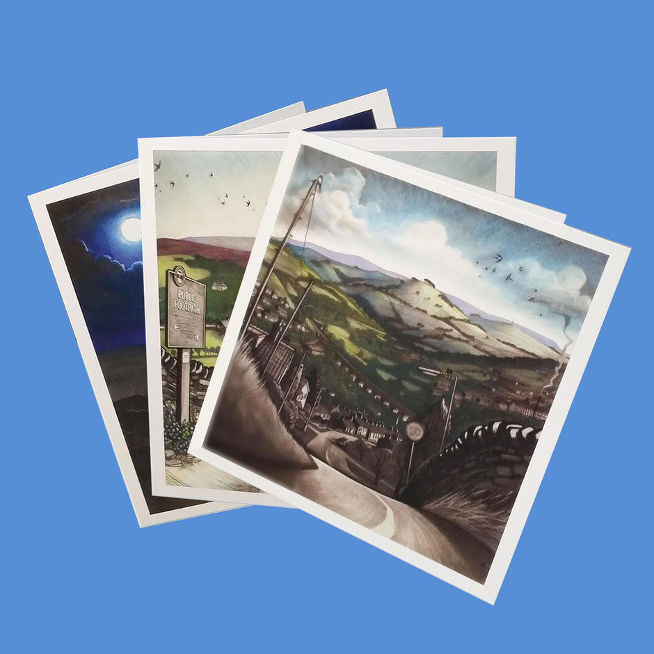 assorted multipack art greeting cards