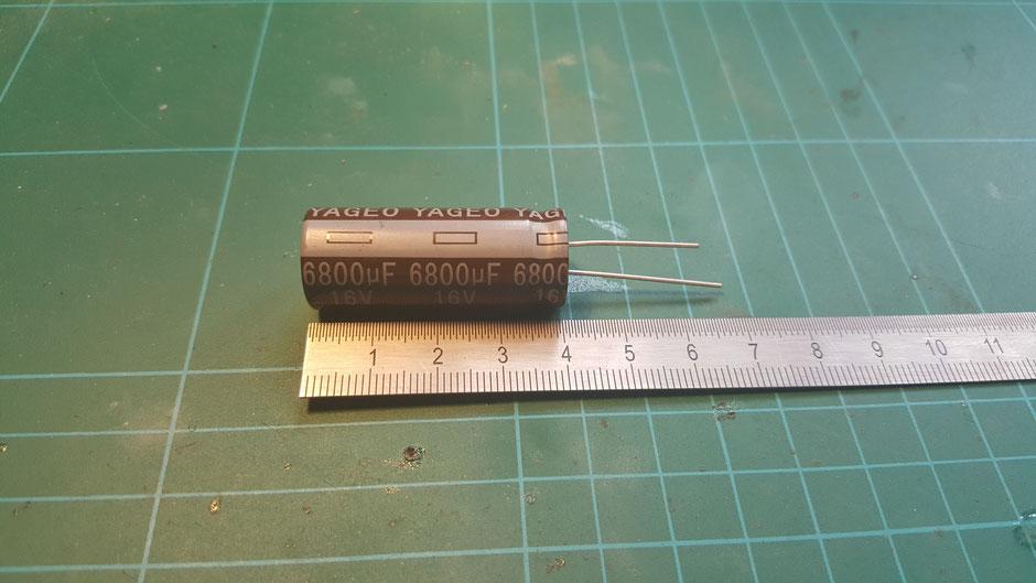 Kondensator 6800uF, 16V