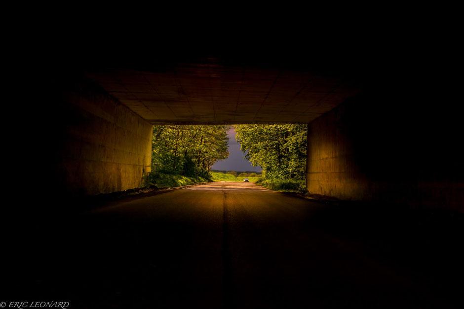 Le plaisir photographique. Eric Léonard. Photos/Paysage. Le bout du tunnel
