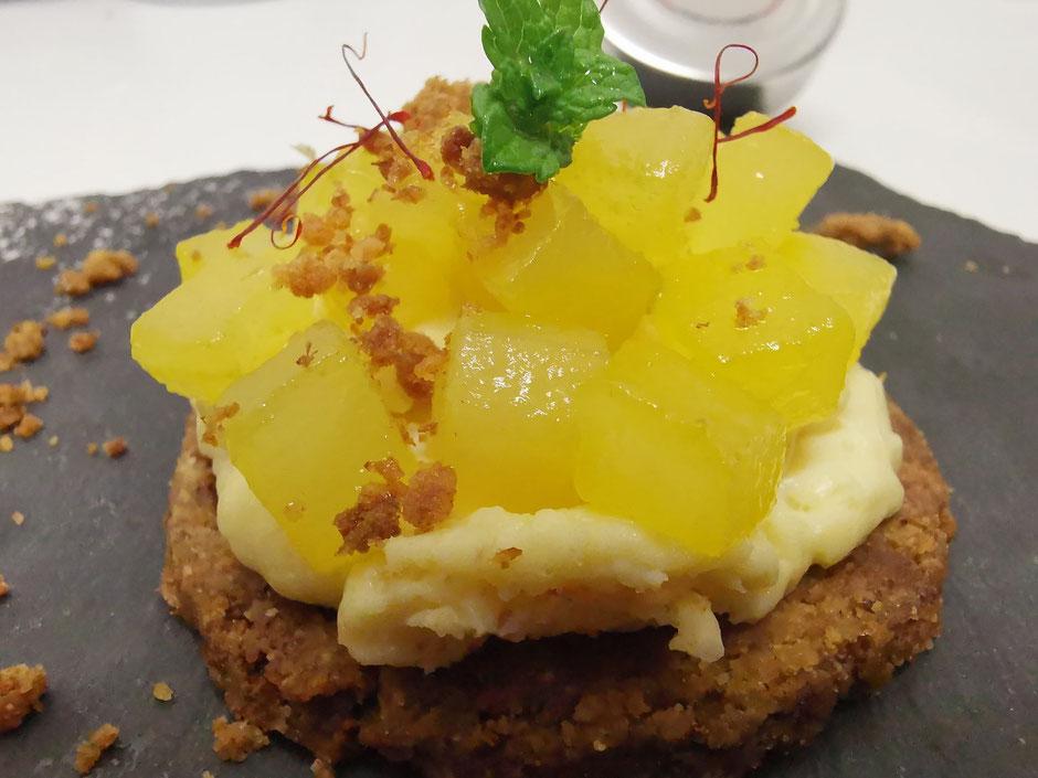 Dessert safrané, Safran de Cotchia