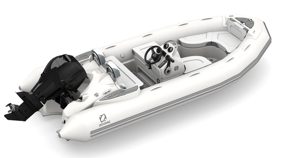Zodiac Yachtline 440 Deluxe RIB for sale te koop - Rubberboot Holland Aalsmeer - Zodiac Nederland