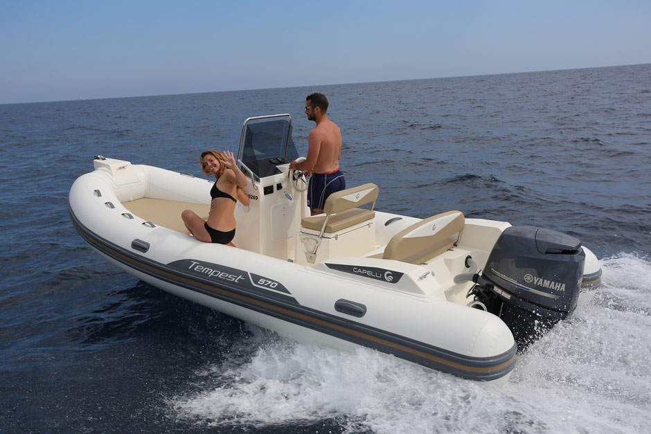 Capelli top line ribs - Tempest 570 - Rubberboot Holland Aalsmeer