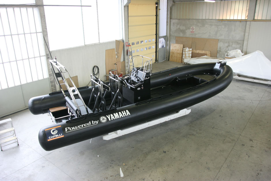 Capelli Raid ribs - Tempest 900 Raid - Rubberboot Holland Aalsmeer