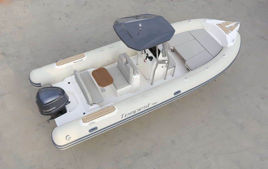 Capelli top line ribs - Tempest 750 LUXE - Rubberboot Holland Aalsmeer