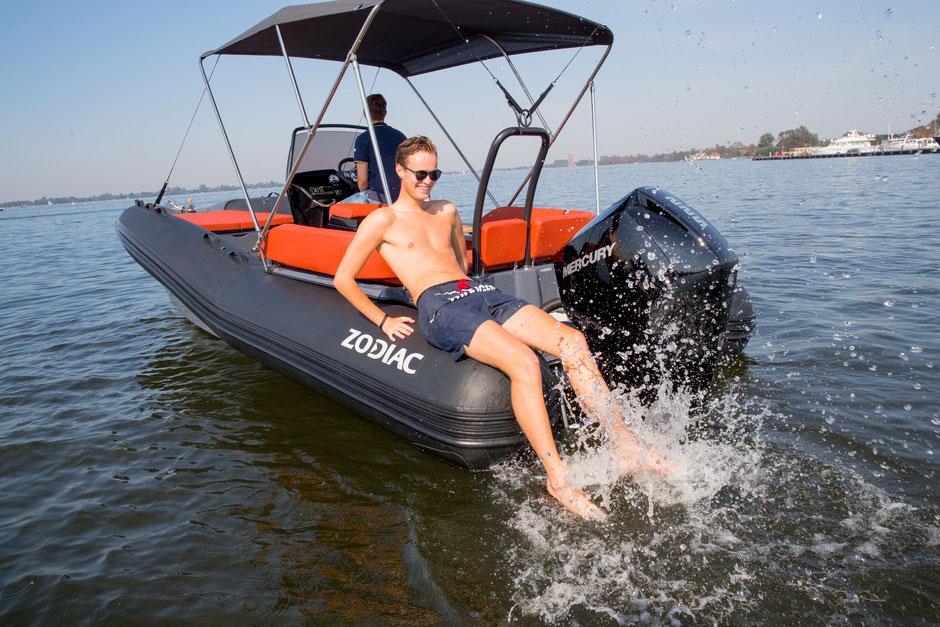 Zodiac N-ZO RIB - N-ZO 680 RIB te koop for sale Rubberboot Holland Aalsmeer
