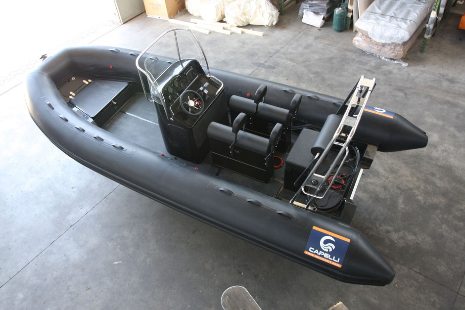 Capelli Raid ribs - Tempest 625 Raid - Rubberboot Holland Aalsmeer