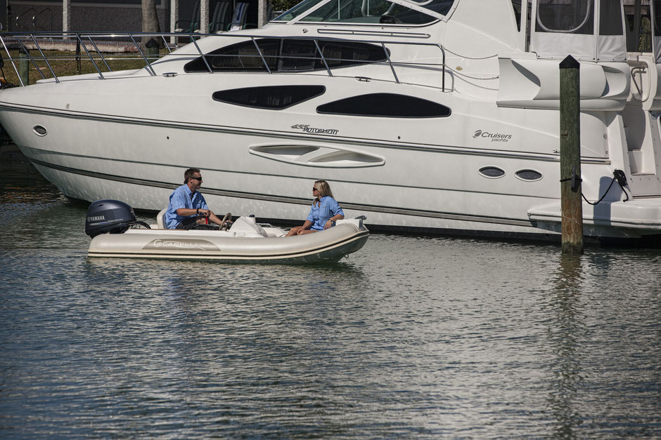 Capelli tender line - Tempest 360 TOP Yachtttender - Rubberboot Holland Aalsmeer