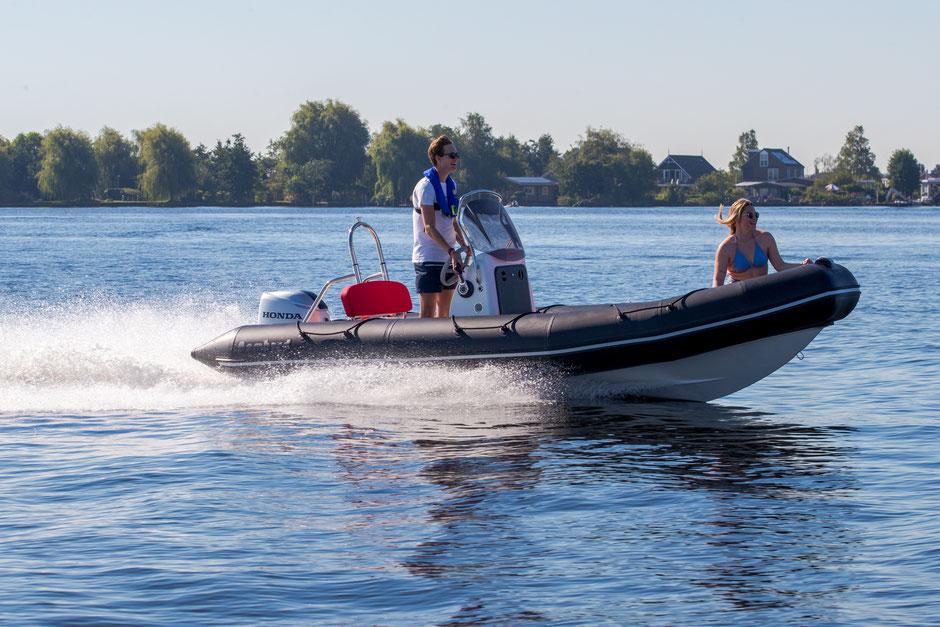 Bombard Sunrider 550 RIB for sale te koop Rubberboot Holland Aalsmeer