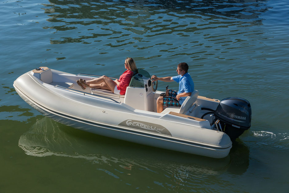 Capelli tender line - Tempest 460 Yachtttender - Rubberboot Holland Aalsmeer