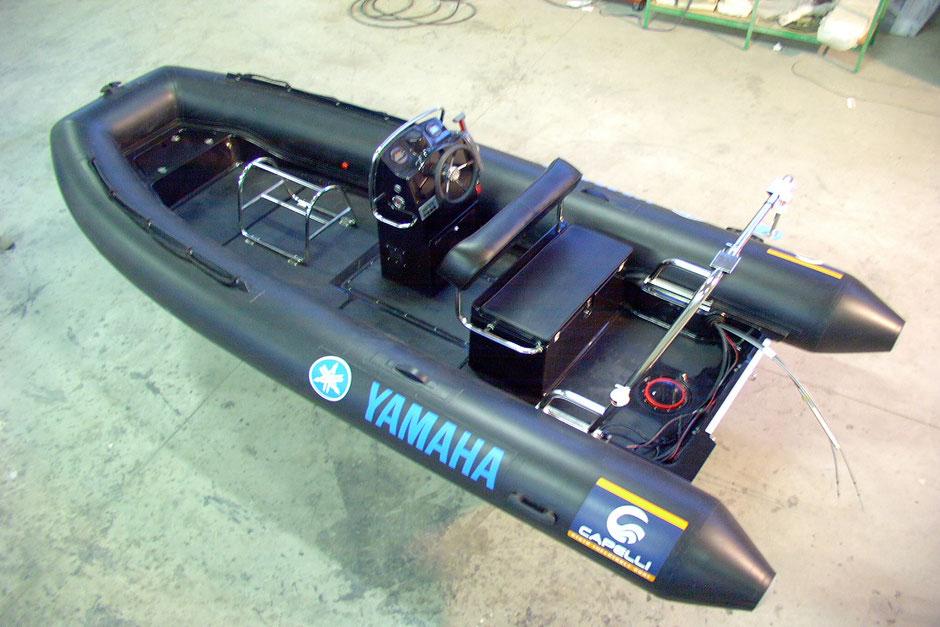 Capelli Raid ribs - Tempest 500 Raid - Rubberboot Holland Aalsmeer