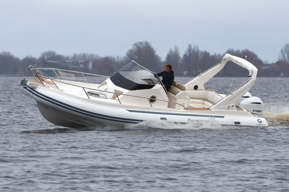 Capelli top line ribs - Tempest 1000 WA - Rubberboot Holland