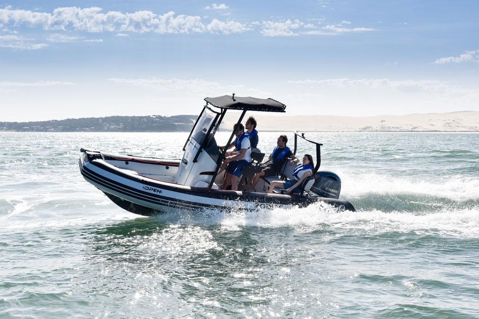 Zodiac OPEN 5.5 RIB for sale te koop - Rubberboot Holland Aalsmeer - Zodiac Nederland