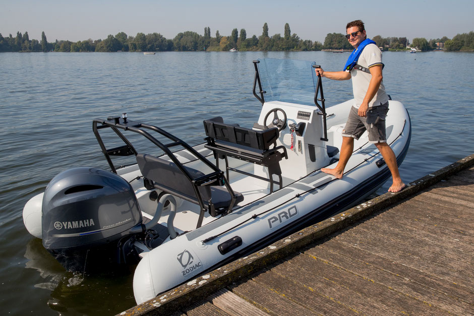 Zodiac PRO 6.5 RIB for sale te koop - Rubberboot Holland Aalsmeer - Zodiac Nederland