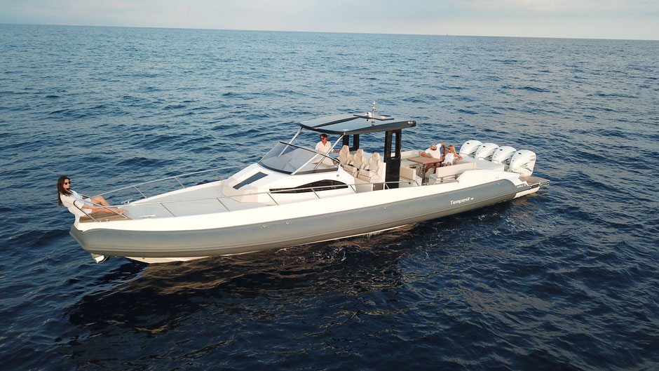 Capelli luxery ribs - Tempest T50 for sales - Capelli Nederland - Rubberboot Holland Aalsmeer