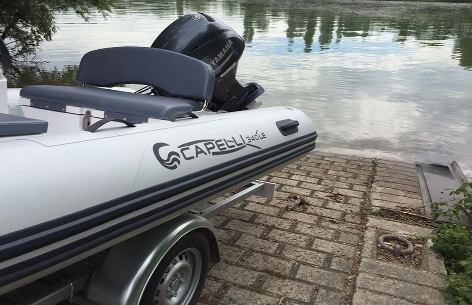 Capelli tender line - Tempest 340 LE Yachtttender - Rubberboot Holland Aalsmeer