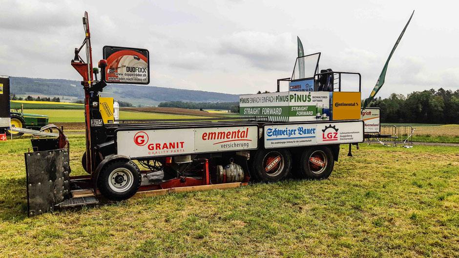 Tractor Pulling Zimmerwald Bremswagen Guggisberg Zimmerwald