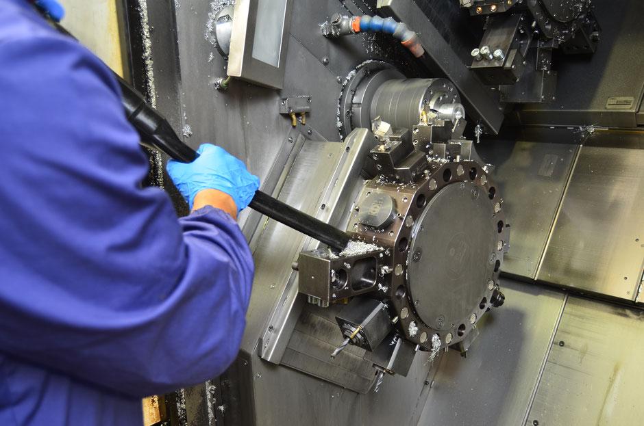 Öl- und Spänesauger Industriesauger für Öl und Späne Kühlschmiermittel CNC