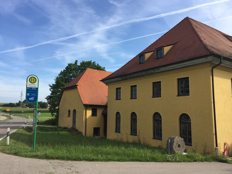 Furthmühle Egenhofen Ostansicht
