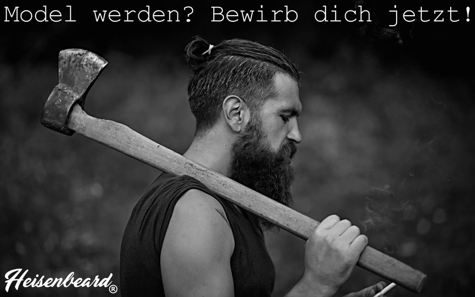 Heisenbeard Beard oil model werden