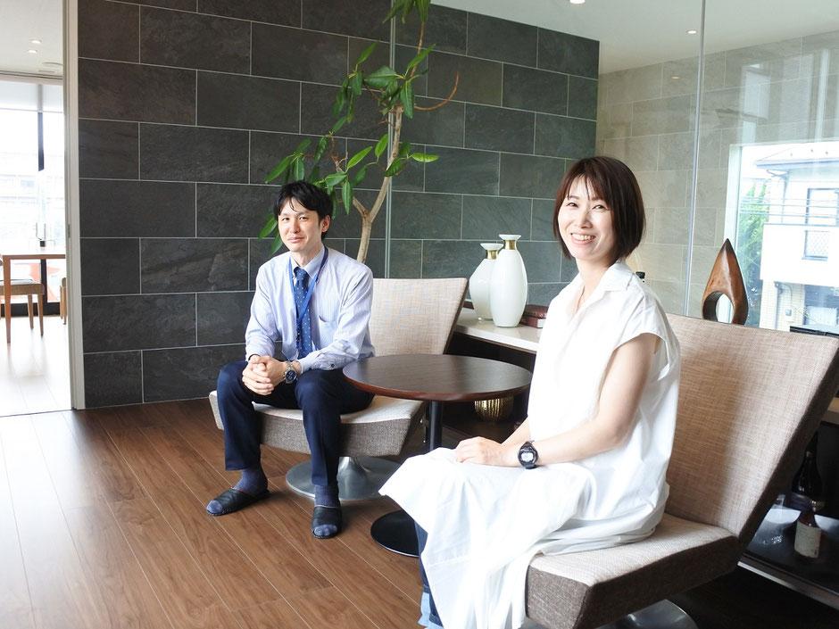 前回と同様、設備関係に詳しい営業の金森勝さんに案内していただきました!