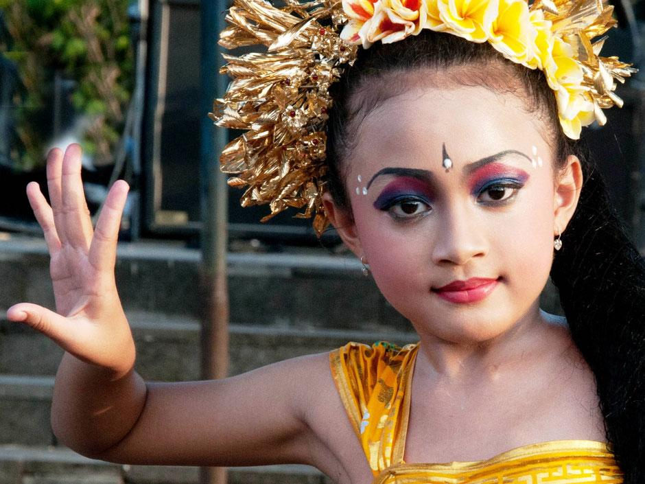 Prachtige Balinese danseres